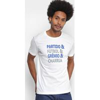 Camiseta Grêmio Lettering Umbro Masculina - Masculino