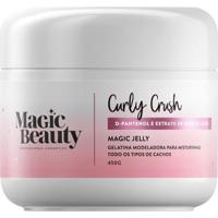 Gelatina Modeladora Magic Beauty Curly Crush Jelly - 500G - Unissex-Incolor