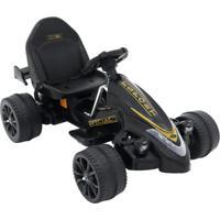 Carrinho Infantil Elétrico Fórmula Esporte, 12V Belfix Bel Brink Preto