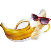 Boia Inflável Gigante Banana De Óculos + Bomba Bel Lazer - Unissex