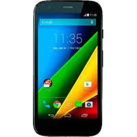 """Smartphone Motorola Moto G Preto 4G - Preto - Xt1078 - 16Gb - Dual Chip - Tela 5"""" - Android 5.0"""