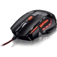 Mouse Gamer Multilaser 2400Dpi Quickfire Vermelho - Mo236 Mo236