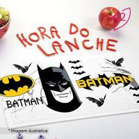 Jogo De Toalhas De Lancheira Do Batmanâ®- Branco & Preto