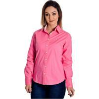 49412a41d3 ... Camisa Pimenta Rosada Mayná - Feminino-Rosa+Branco