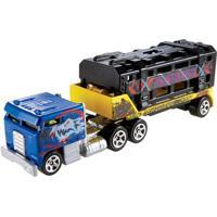Carrinho Hot Wheels - Track Stars - Caged Cargo Black - Mattel