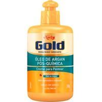 Creme De Pentear Niely Gold Óleo De Argan Pós Química 280G - Unissex-Incolor