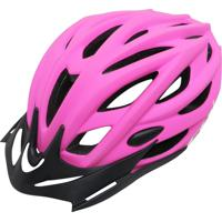 Capacete Cly Out Mold Mtb/Urbano Para Ciclismo G Rosa