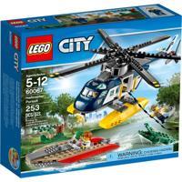 City Police Perseguição Helicoptero Lego Colorido