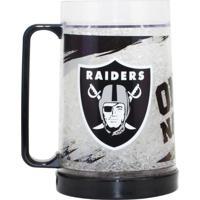 Caneca Chopp Edimagic Térmica Oakland Raiders - Nfl