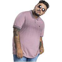 Camisa Polo Svk - Plus Size - Brand - Rosa