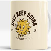 Caneca Just Keep Going
