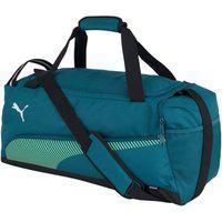 Bolsa Puma Fundamental Lifestyle 077288-02, Cor: Azul/Verde, Tamanho: Único