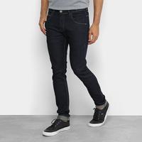 Calça Jeans Skinny Rock & Soda Amaciada Masculina - Masculino-Jeans