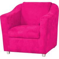 Poltrona Decor Magazine Tilla Suede Pink