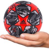 Minibola De Futebol De Campo Manchester United Finale 19 Adidas - Vermelho/Cinza Esc