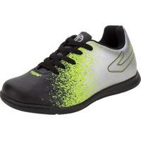 Chuteira Infantil Unissex Top Strike Ii Futsal Topper - Tp01730001 Preto/Cinza 28