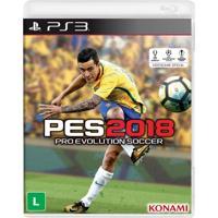 Jogo Pro Evolution Soccer 2018 (Pes 2018) Para Playstation 3 (Ps3) - Konami