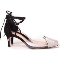 Scarpin Transparente Sapato Vinil Feminino Lançamento Cristal