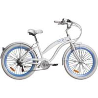 Bicicleta Blitz Beach Cruizer Wind Aro 26 6V Shimano - Unissex