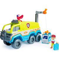 Veículo E Mini Figuras - Patrulha Canina - Resgate Na Selva - Caminhão De Resgate - Sunny