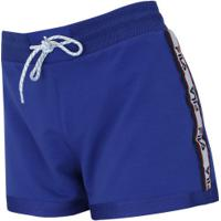 Shorts Fila Taped - Feminino - Azul