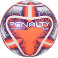 044456f0d1 Bola De Futebol De Campo Penalty S11 R1 Ix - Branco Laranja