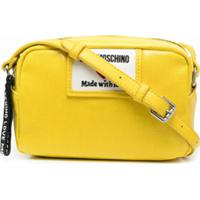 Love Moschino Bolsa Transversal Sporty Label - Amarelo