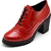 Sapato Salto Alto Dr Shoes Vermelho