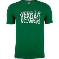 Camiseta Do Palmeiras Puma Grap 2020 - Masculina - Verde