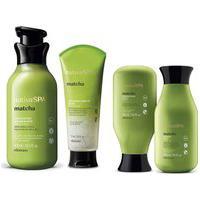 Combo Nativa Spa Matcha: Shampoo, 300Ml + Condicionador, 300Ml + Esfoliante Capilar, 175Ml + Loção Hidratante, 400Ml