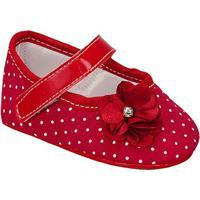 Sapato De Poã¡- Vermelha & Branco- Griffgriff