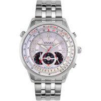 Relógio Vivara Masculino Aço - Ds08714R1K-1