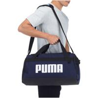 Mala Puma Challenger Po - Azul Esc/Branco