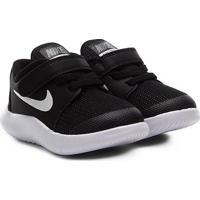 Tênis Infantil Nike Flex Contact Masculino - Masculino-Preto+Branco