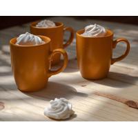 Caneca Le Mug Em Cerâmica Mostarda 260Ml