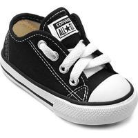 Tênis Infantil Converse All Star Chuck Taylor Border Baby - Unissex-Preto