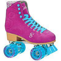 Patins Quad Roller Derby Candi Girl Carlin Raspberry - Tamanho 35 Pink