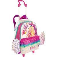 Mochila Infantil 2 Em 1 Barbie Dreamtopia - Feminino-Rosa