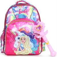 Mochila Infantil Luxcel Barbie Color