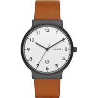 Relógio Analógico Skagen Masculino - Skw6297/2Bn Marrom