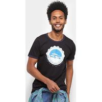 Camiseta Colcci Open Road Masculina - Masculino-Preto