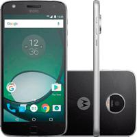 "Smartphone Motorola Moto Z Play Xt1635 - Preto - 32Gb - Dual-Chip - 16Mp - Tela 5.5"" - Android 6.0"