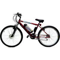 Bicicleta Elétrica Machine Motors Lithium Basic 350W 36V Vermelho