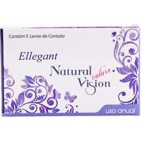 Natural Vision Ellegant Anual - Com Grau - Lentes De Contato