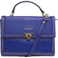 363e48c8138fe Bolsa Ana Hickmann Pequena Tiracolo Azul