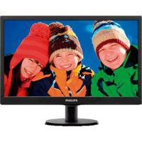 """Monitor Lcd Philips - Iluminação Led - 19.5"""" - Smartcontrol - 1.600 X 900 A 60 Hz"""