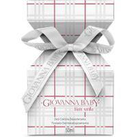 Deo Colônia Giovanna Baby Blanc Vanilla 50Ml Único