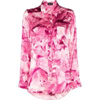 Märta Larsson Blusa De Pijama Smith Com Estampa Floral - Rosa