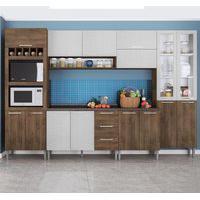 Cozinha Compacta Genialflex Rafaela Demolição E Gelo 3D Com Tampo