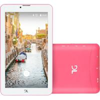 "Tablet Dl Mobi Tx384 7"" 8Gb Wi-Fi Rosa"